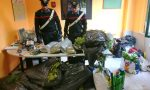 Scoperto il cascinale della droga in collina, arrestate due persone