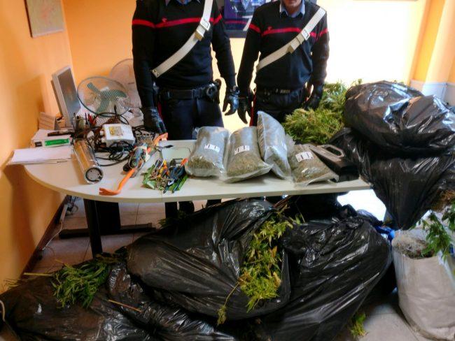 Scoperto il cascinale della droga in collina, arrestate due persone. L'operazione si è svolta nella notte tra sabato 21 e domenica 22 settembre a Gassino.