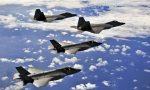 Missione di addestramento con aerei militari, il volo sul torinese