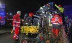 Grave incidente stradale, un'auto è finita nel canale LE FOTO