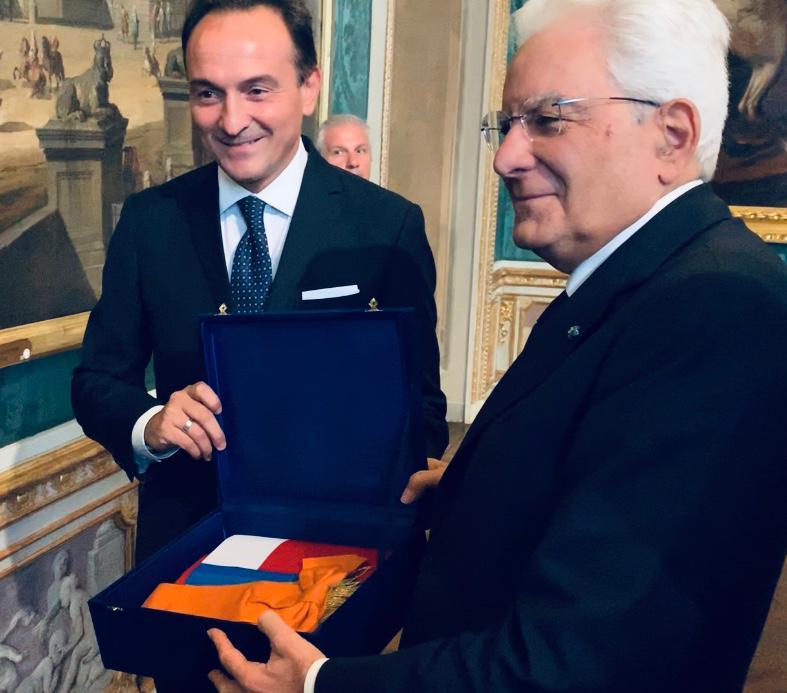 Sergio Mattarella Alberto Cirio a Torino