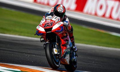MotoGP Valencia, nelle Libere 3 cade Pecco Bagnaia
