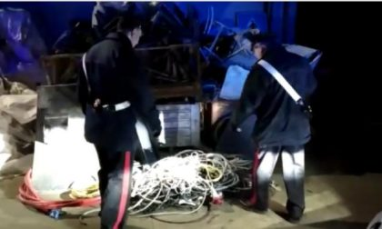 Ladri specializzati in furto di rame: 10 arresti | FOTO