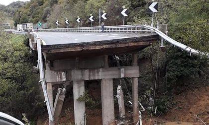 Viadotto crollato lungo l'autostrada A26 Torino-Savona: 4 mesi per ripristinarlo