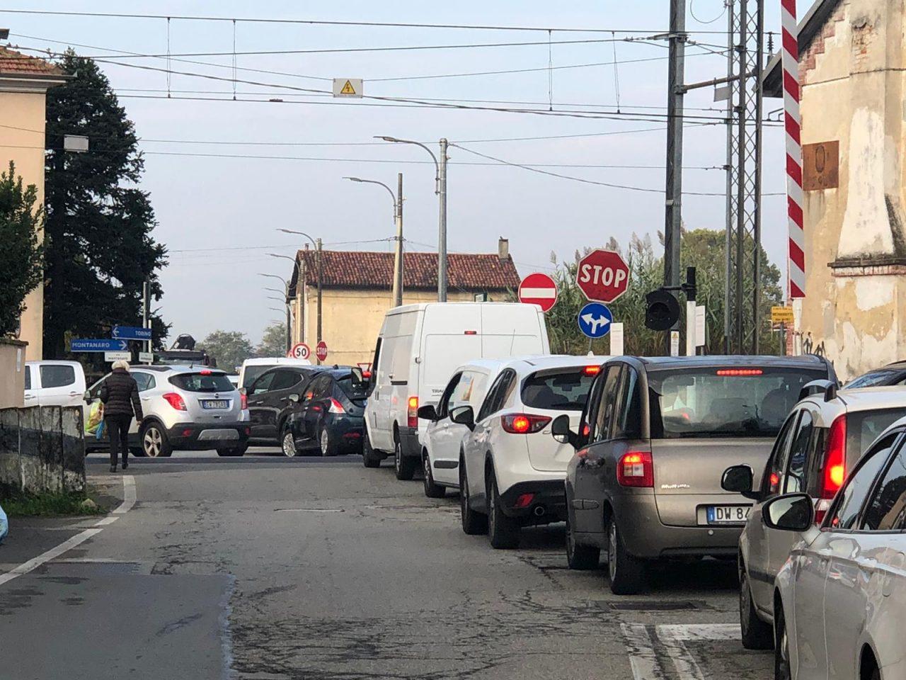 traffico bloccato