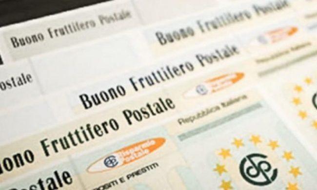 Buoni fruttiferi postali: rimborsi sbagliati per le serie O e P successive al 1° luglio 1986