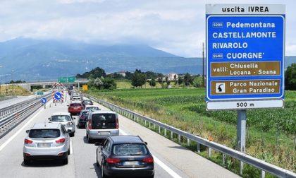 Rischio chiusura autostrada per sistemare la frana