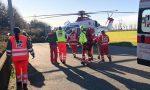 Artigiano cade da tre metri d'altezza, incidente sul lavoro a Rondissone VIDEO