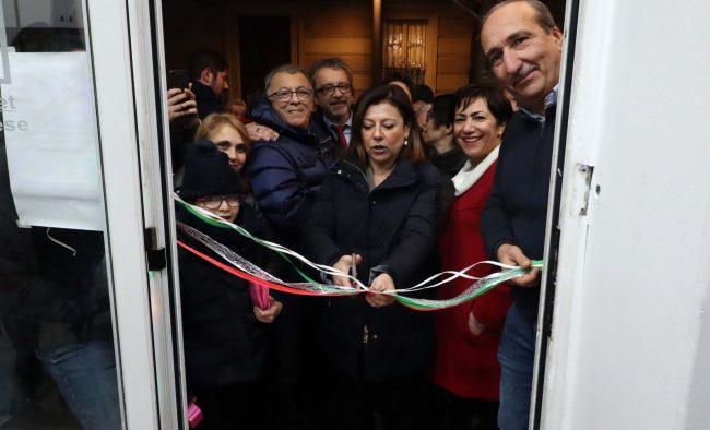 Ministra Paola De Micheli Settimo Torinese