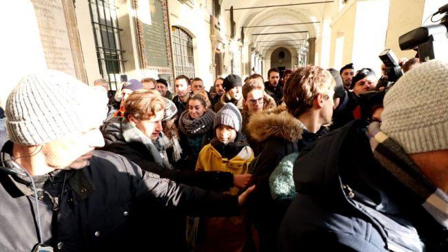 Il gran giorno di Greta Thunberg a Torino FOTO e VIDEO