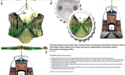 Amazon ritira decorazioni natalizie a tema Auschwitz: utenti inorriditi