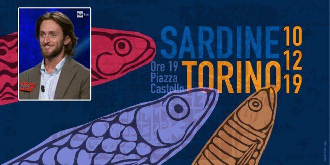 Sardine a Torino stasera, il canavesano prof de L'Eredità scrive una lettera di sostegno