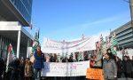 Crisi Olisistem: sciopero sotto il grattacielo Intesa Sanpaolo