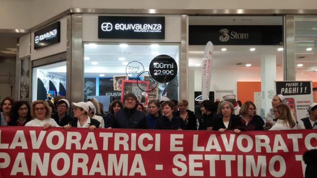 Panorama, lavoratori in sciopero contro i trasferimenti