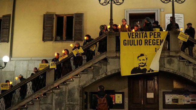 San Mauro vuole la verità su Giulio Regeni LE FOTO