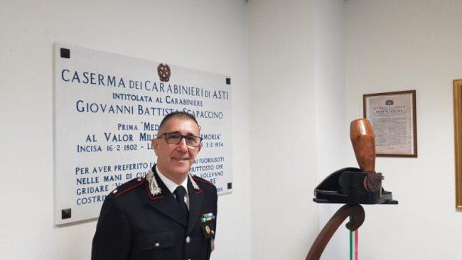 Nuovo Comandante per i Carabinieri del Radiomobile di Asti: per anni è stato alla guida della stazione di Cavagnolo