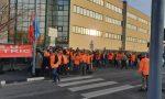 Sciopero lavoratori Schneider Eletric a Venaria, a rischio i posti di lavoro | FOTO