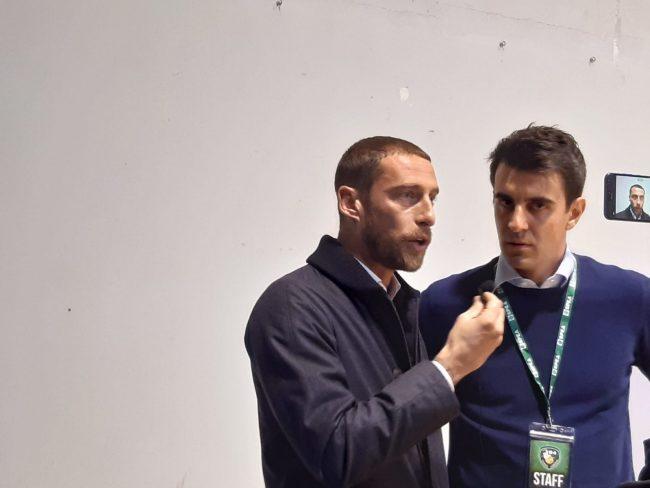 Claudio Marchisio sponsor della L84, tutto esaurito al palazzetto FOTO E VIDEO