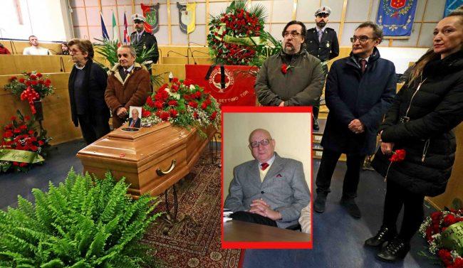 Centinaia di persone per l'ultimo saluto a Salvatore Balbo FOTO