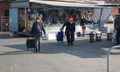 Mercato del mercoledì di Chivasso: niente banchi in via Torino