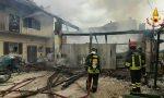 Incendio in un garage, danneggiata anche un'abitazione