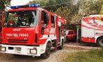 Incendio in una villetta, intervengono i vigili del fuoco