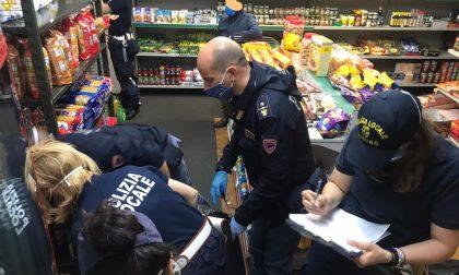 Merce scaduta in un minimarket, gestore sanzionato