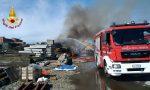 Incendio sulla linea ferroviaria in zona Lingotto