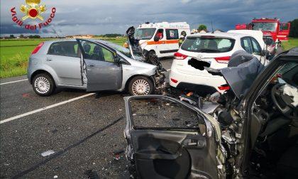 Incidente in tangenziale, tre auto coinvolte LE FOTO