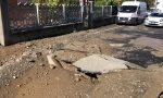 Chivasso nuovamente senz'acqua, terza rottura dell'acquedotto in pochi giorni LE FOTO