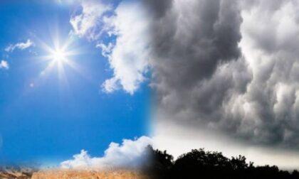 Meteo, temperature in diminuzione e previsti temporali