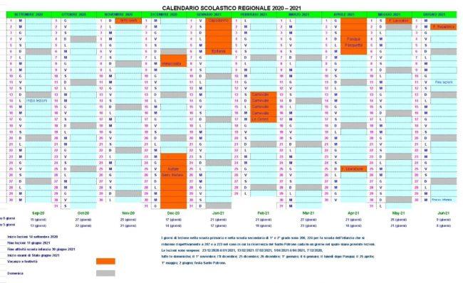Calendario Scolastico 2020 2021 Torino Calendario scolastico in Piemonte: si parte il 14 settembre e si