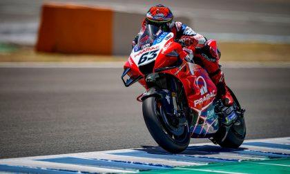 Moto Gp Andalusia, Pecco Bagnaia è terzo nelle prove