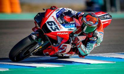 MotoGp Jerez, Bagnaia parte dal quarto posto