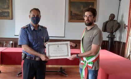 Encomio solenne all'appuntato scelto Gianluca Della Pepa