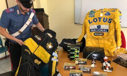Il tesoro di Ayrton Senna trovato in un bazar di Chivasso LE FOTO