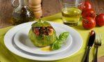 Zucchine tonde ripiene di verdure e non solo