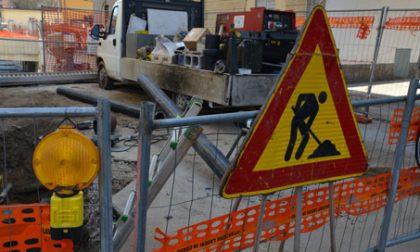 Lavori pubblici, viabilità modificata in città
