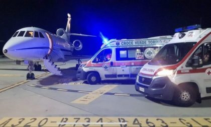 Un volo d'urgenza dell'Aeronautica Militare salva una bimba di 5 anni