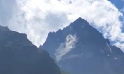 Franano le pareti Sud e Nord-Est del Monviso
