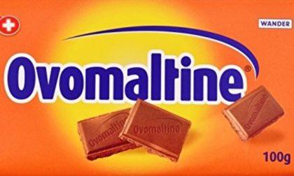 Tavolette di cioccolato Ovomaltine ritirate dal mercato: contengono pezzi di plastica