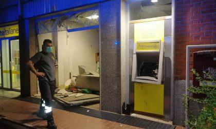 Esplosione e assalto notturno alle poste di Chivasso