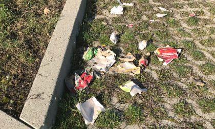 Parco giochi invaso dai rifiuti: scoppia la polemica