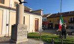 CasaPound dona tricolore a monumento dei Caduti LE FOTO