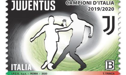 Arriva il francobollo della Juventus