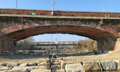 Ponte del Malone, quasi finiti i lavori nell'alveo del torrente LE FOTO