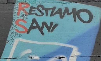 I vandali colpiscono il murales in ricordo del partigiano