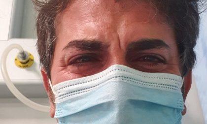 Dimino e la sua compagna stanno vivendo sulla loro pelle il Coronavirus