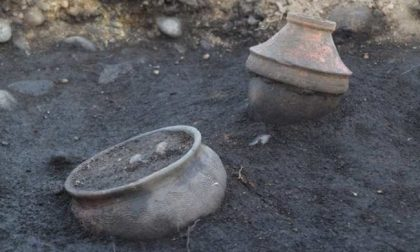Scoperta necropoli nella centrale di Volpiano