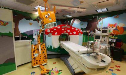 """""""Dottoressa Giraffa"""", il dono di DiaSorin all'ospedale Regina Margherita"""